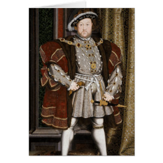 Henry The Eighth Portrait Card