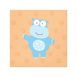 henry_the hippo canvas print