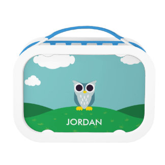 Henry the Owl Lunch Box