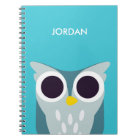 Henry the Owl Notebook