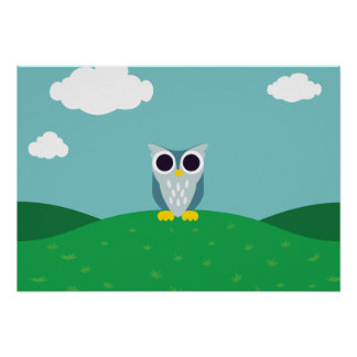 Henry the Owl Poster