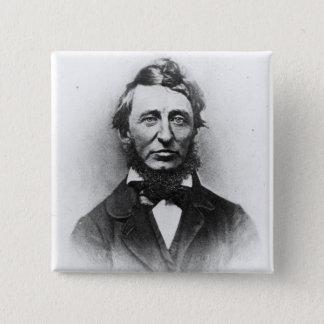 Henry Thoreau 15 Cm Square Badge