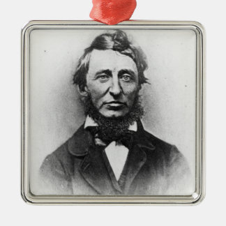 Henry Thoreau Christmas Ornament