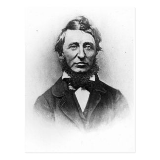Henry Thoreau Postcard