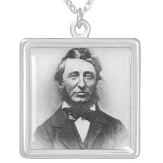 Henry Thoreau Silver Plated Necklace