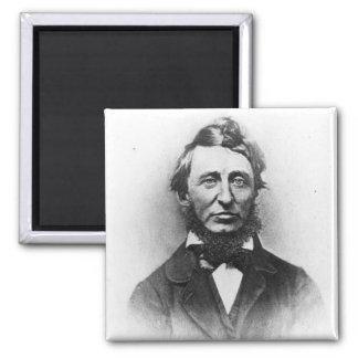 Henry Thoreau Square Magnet