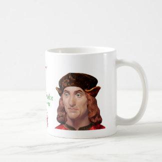 Henry Tudor Defender of the Realm Series Basic White Mug