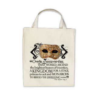 Henry V Quote Bags