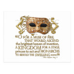 Henry V Quote (Gold Version)