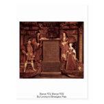Henry Vii, Henry Viii By Leemput Remigius Van Postcards