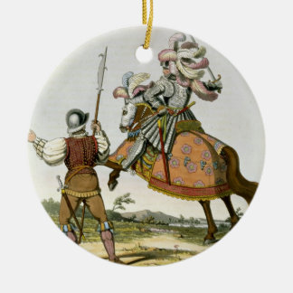 Henry VII, King of England (1457-1509) and a Billm Christmas Ornament