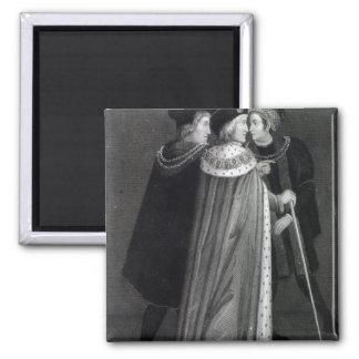 Henry VII Square Magnet