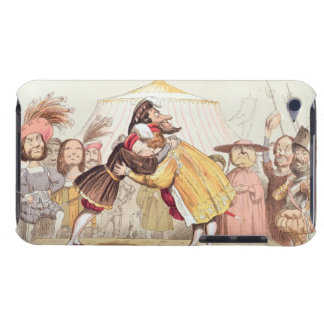 Henry VIII (1491-1547) and Francis I of France (14 Barely There iPod Cover