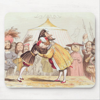 Henry VIII (1491-1547) and Francis I of France (14 Mouse Pad