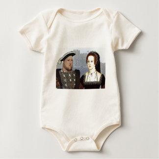 Henry VIII and Ann Boleyn Baby Bodysuit