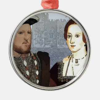 Henry VIII and Ann Boleyn Christmas Ornament