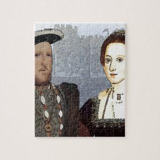 Henry VIII and Ann Boleyn Jigsaw Puzzle