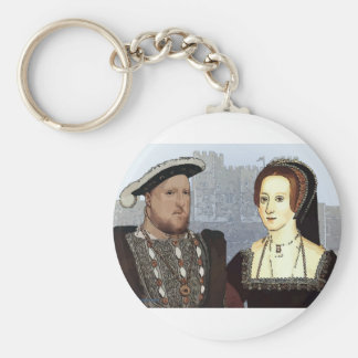 Henry VIII and Ann Boleyn Key Ring