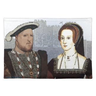 Henry VIII and Ann Boleyn Placemat