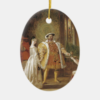 Henry VIII and Anne Boleyn Ceramic Oval Decoration