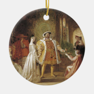 Henry VIII and Anne Boleyn Christmas Ornament