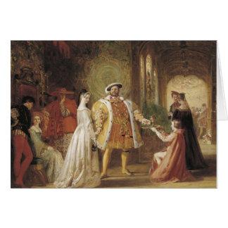 Henry VIII and Anne Boleyn Greeting Card