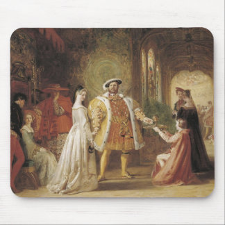 Henry VIII and Anne Boleyn Mouse Pads