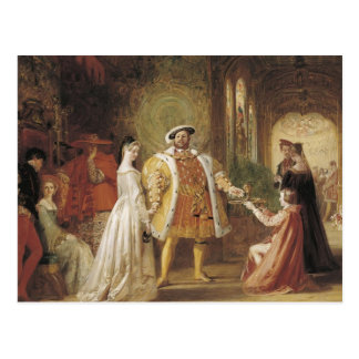 Henry VIII and Anne Boleyn Postcard