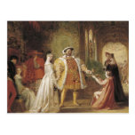 Henry VIII and Anne Boleyn Postcards