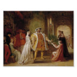 Henry VIII and Anne Boleyn Poster