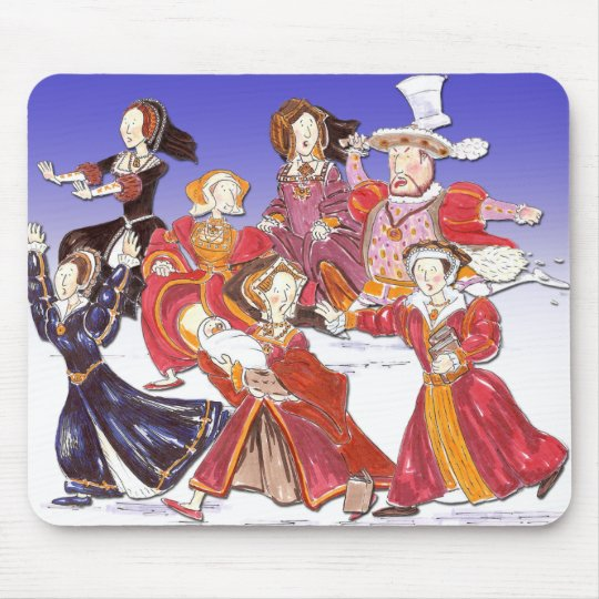 Henry VIII and his Six Wives Cartoon Mouse