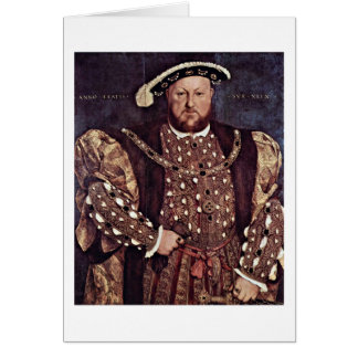 Henry Viii Of England By Hans Holbein The Younger Greeting Cards