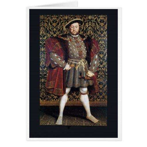 Henry VIII Portrait Greeting Cards