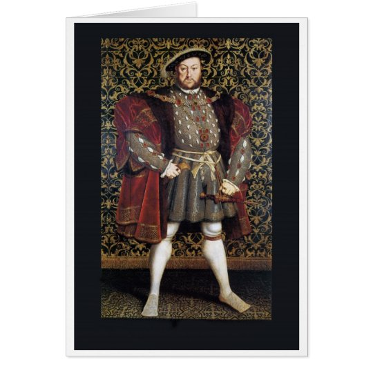 Henry VIII Portrait Card