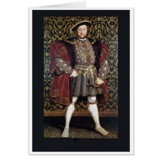 Henry VIII Portrait Greeting Card