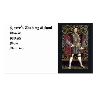 Henry VIII Portrait Pack Of Standard Business Cards