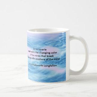 Henry Wadsworth Longfellow Famous Quote on Sea Mug
