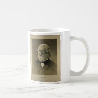 Henry Wadsworth Longfellow Portrait (1888) Basic White Mug
