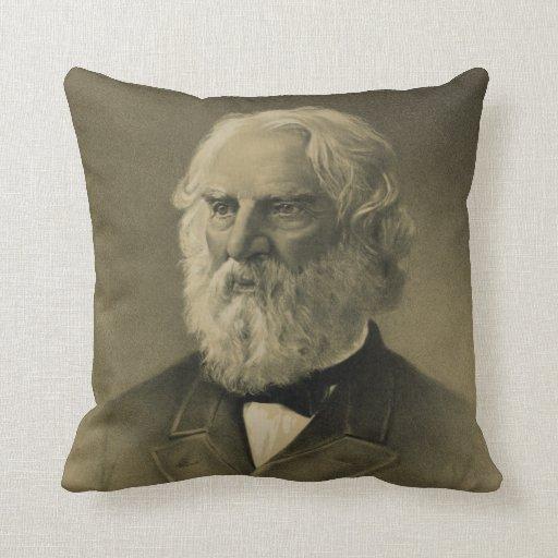 Henry Wadsworth Longfellow Portrait (1888) Pillow