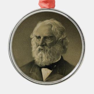 Henry Wadsworth Longfellow Portrait (1888) Christmas Ornament
