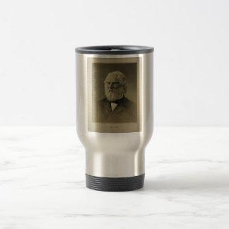 Henry Wadsworth Longfellow Portrait (1888) Stainless Steel Travel Mug