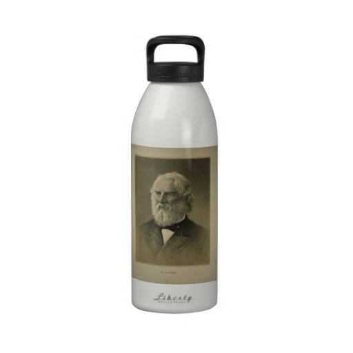 Henry Wadsworth Longfellow Portrait (1888) Drinking Bottles
