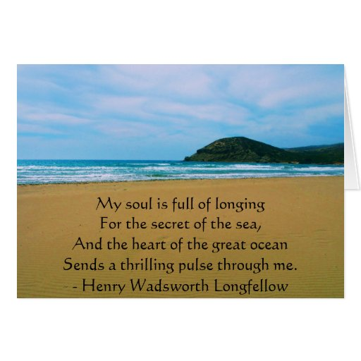 Henry Wadsworth Longfellow Spiritual Quote Greeting Cards