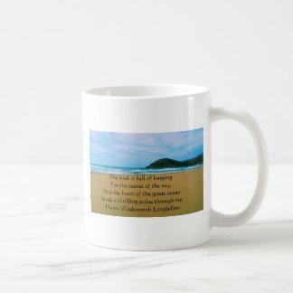 Henry Wadsworth Longfellow Spiritual Quote Coffee Mug