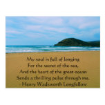 Henry Wadsworth Longfellow Spiritual Quote Postcard