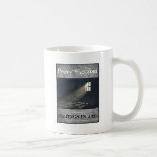 Henry Waxman Basic White Mug