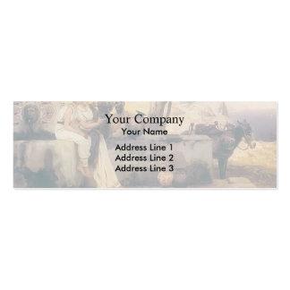 Henryk Siemiradzki- Seller vases Business Card Templates