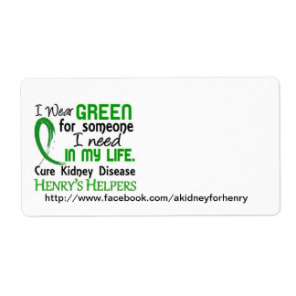 Henry's Helper Shipping Labels