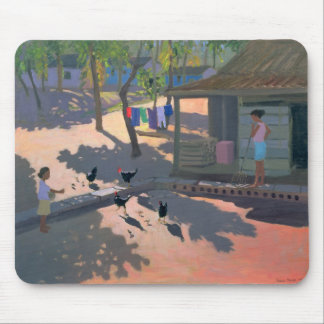 Hens and Chickens Cuba 1997 Mouse Mat
