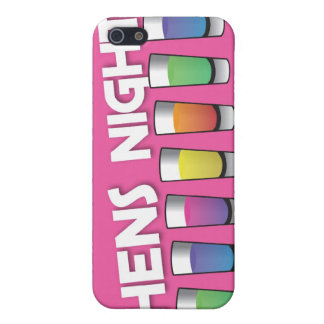 Hens night with Alcohol spirit shots Case For The iPhone 5